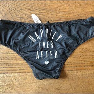 Victoria's Secret honeymoon panties